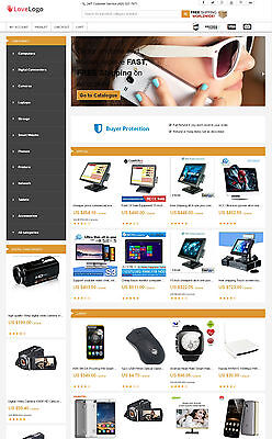 Electronics Store - Aliexpress Affiliate Website Free Hosting