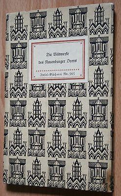 IB 505 Insel Bücherei Die Bildwerke des Naumburger Doms