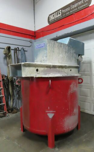 Used 30 hp Bowers High Speed Tank Mount Disperser