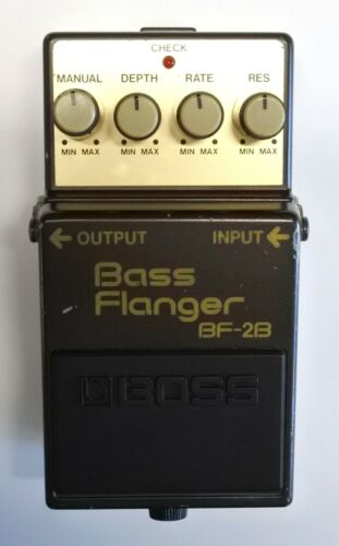 BOSS BF-2B Base Flanger Guitar Effects Pedal MIJ 1988 #15 DHL Express or EMS