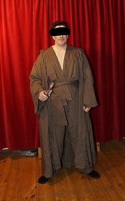 Star Wars Jedi-Ritter Cosplay Kostüm Komplettset für Erwachsene Größe L-XL