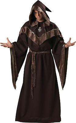 Mystische Hexenmeister Erwachsene Herren Kostüm Zauberermantel (Erwachsene Mystische Hexe Kostüme)
