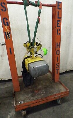 Yale Electric Chain Hoist 12 Ton Kel 12-10th15s1 1 Hp 3 Ph With Trolley
