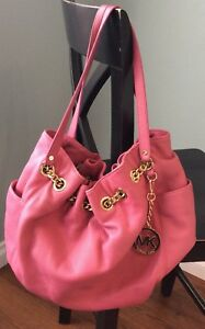 Michael Kors Leather Purse Pink