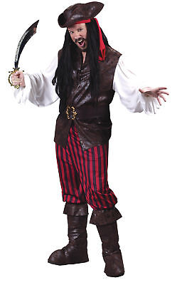 High Seas Male Buccaneer Adult Mens Costume Pirate Movie Theme Party Halloween - Adult Pirate Movie