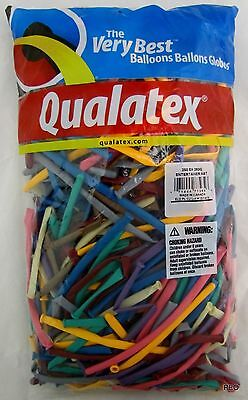 Qualatex Balloons Entertainer Assortment Animal Twist 250 Count Size 260 Balloon for sale  Pelham