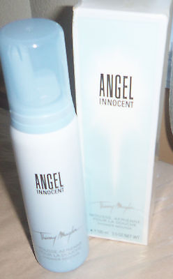 THIERRY MUGLER~ Angel Innocent ~Perfumed Shower Mousse~3.5 oz ~ New In Box 3.5 Ounce Shower Mousse