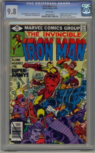 Iron Man 127 CGC 9.8