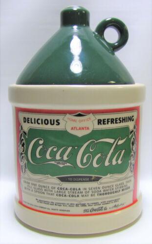 Vintage Coca Cola Syrup Jug Cookie Jar ©1993