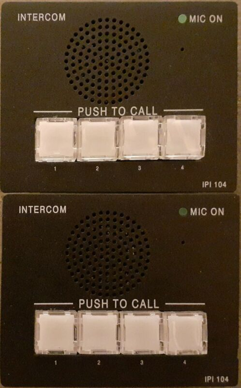 Extron IPI 104 Intercom System Speaker and Microphone
