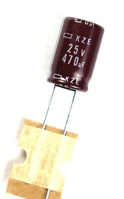 Electrolytic Capacitors  330uf//microfarad  25v//volt  Radial  8x11mm Quantity 5