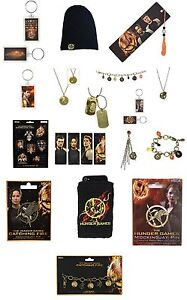 Catching-Fire-Hunger-Games-Keyring-Bookmark-Magnets-Necklace-Mockingjay-Pin