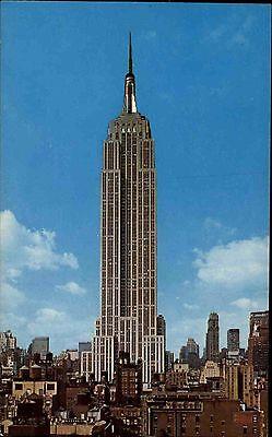 Das Empire State Building (New York City USA Amerika ~1960/70 Blick auf das Empire State Building Hochhaus)