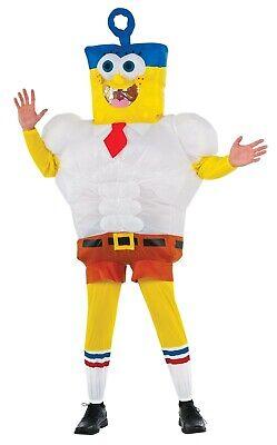 vincibubble Spongebob Film Erwachsene Halloween Kostüm (Aufblasbare Spongebob)