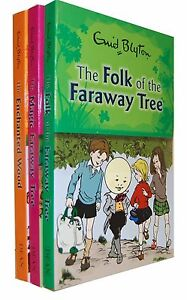 Enid Blyton The Magic Faraway Tree 3 Books Set New