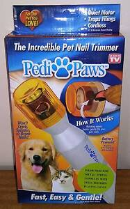 PEDI PAWS Nail Trimer - Trim Nails Claws Cats Dogs Rabbits NEW Golden Grove Tea Tree Gully Area Preview