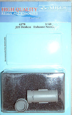 Aires 1/48 4378 J35 Draken Exhaust Nozzle for Hasegawa Kit