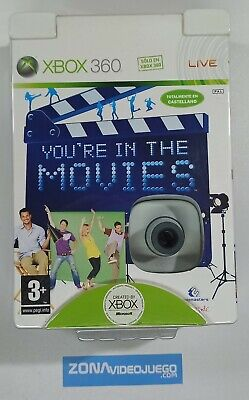 You're in the Movies + Xbox Live Vision (cámara). Xbox 360. Pal....