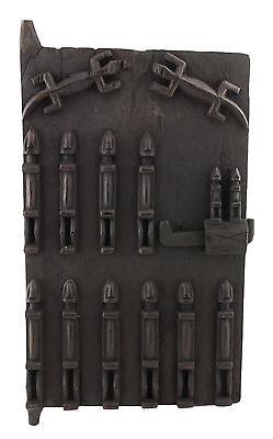 Door Dogon of Attic in Mil Mali 71x 38 cm Art African 1052 Gar
