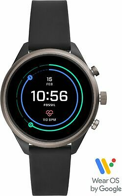 Fossil - Sport Smartwatch 41mm Aluminum - Black with Black S
