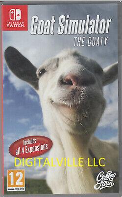 Goat Simulator The GOATY Nintendo Switch Brand New Sealed GoatZ & MMO Sim Payday