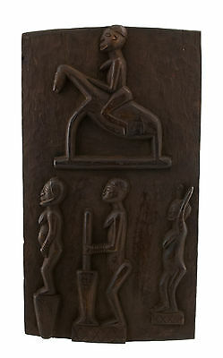 Door Attic Baoule 59 X 33 Cm Art African 1073 GAR