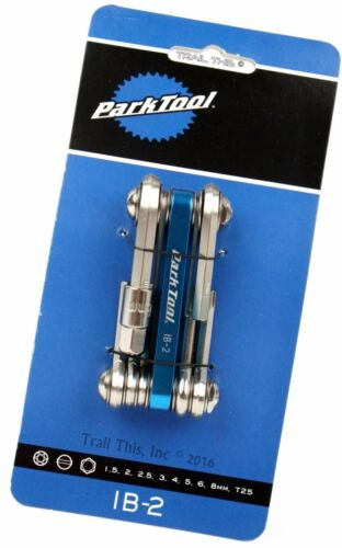 Park Tool IB-2 I-Beam Mini Folding Fold-Up Multi-Tool Bicycle Repair Tool
