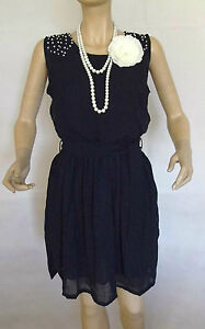 1920S-GATSBY-FLAPPER-VINTAGE-LOOK-CHARLESTON-DOWNTON-BEADED-DRESS-SIZE-L-10-12