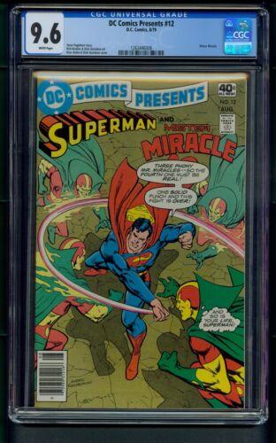 DC Comics Presents #12 (1979) CGC Graded 9.6 ~ Mister Miracle ~ Superman