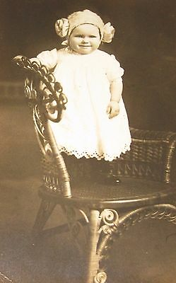 1910's Girl as Victorian Princess Leia STAR WARS Costume Vintage PHOTO RPPC - Girl Princess Leia Costume