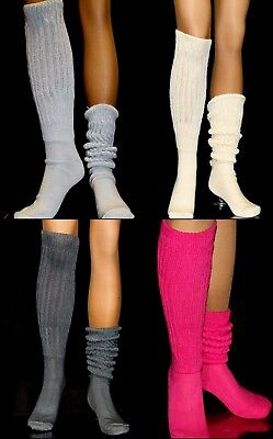 20 Slouch Socks Long    sz 8-11 Hooters Uniform Made in USA Women's soccer - Halloween Soccer Socks