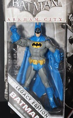 Batman Arkham City Legacy Edition '66 Batsuit new Adult Collector Action Figure (Cinderella Adult Version)