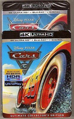 Disney Pixar Cars 3 Collector's Edition 4K Ultra HD + Blu-ray + Digital