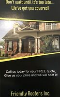 Friendly Roofers Inc, Call Us Today For Your Free Roofing Quote!