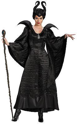 Maleficent Taufe Schwarz Erwachsene Damen Kostüm Disney Jolie - Dornröschen Kostüm Damen