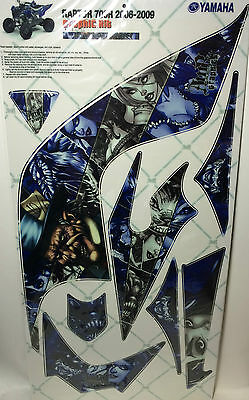 AMR Racing Graphics Kit Clearance Sale For Yamaha RAPTOR 700 06-12 MAD HATTER ](Mad Hatter For Sale)