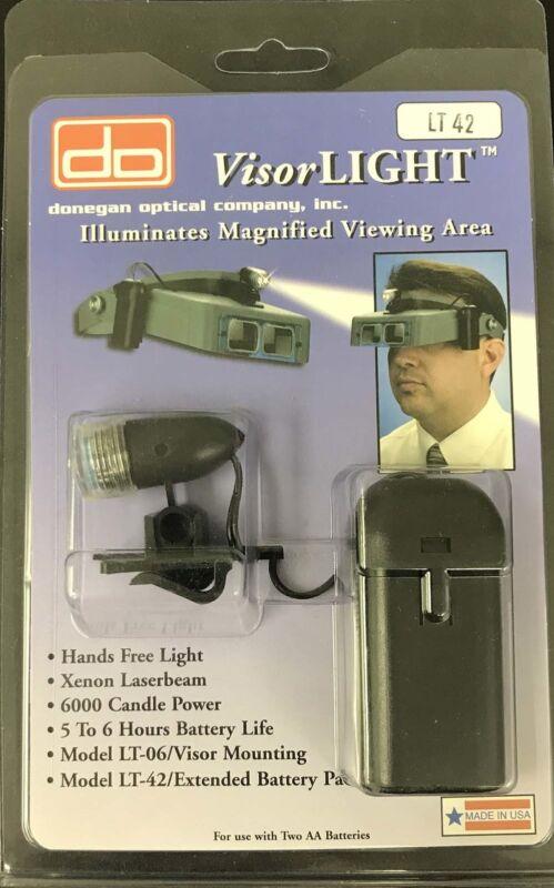 Donegan VisorLight for OptiVisor w/42 Inch Long Cord Xenon Bulb Fishing Light