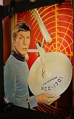 Star Trek Mr. Spock Personality Poster - Leonard Nimoy (C-8) 1967