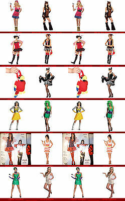 womans costumes Batman Super Villain Joker Female Adult Costume - Batman Female Villains Costumes