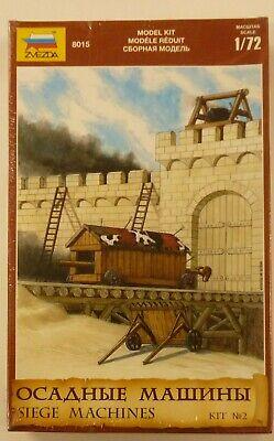 Zvezda 1/72 Medieval Siege Machines Model Kit 8015