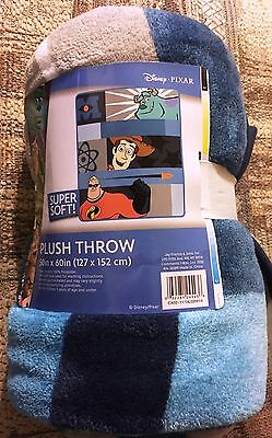 (Pixar Filmstrip Micro Raschel Throw Blanket 50