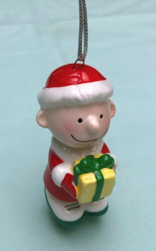 Vintage Peanuts Charlie Brown Ceramic Ornament (1960s) Japan
