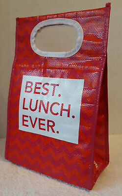 An Insulated 'Best Lunch Ever' Collapsible Lunch Bag by T.J. Maxx