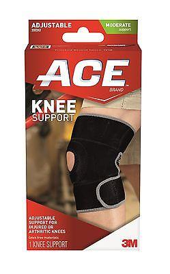 Ace Knee Support Wraparound Wrap Brace Arthritis Adjustable Compression Neoprene Ace Adjustable Knee Brace
