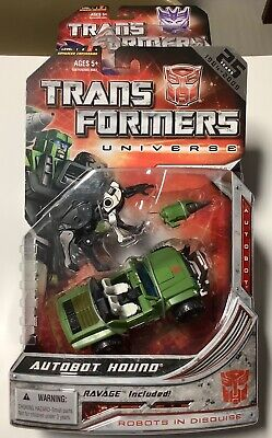 Transformers Universe AUTOBOT HOUND with RAVAGE New and Sealed 2008 Hasbro