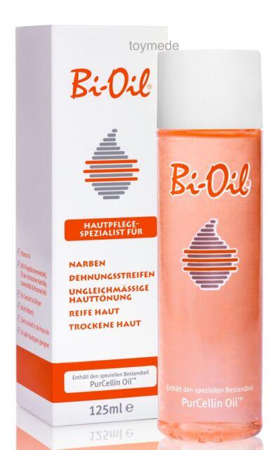 BI-OIL Hautpflege Öl gegen Narben, Dehnungsstreifen & ungleiche Hauttönung 125ml