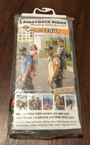 Piggyback Rider Scout Standing Child Toddler Carrier Backpack 2+years up to 50lb