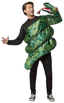 Anaconda Erwachsene Herren Schlange Attack Lustig Kostüm Halloween Verkleidung