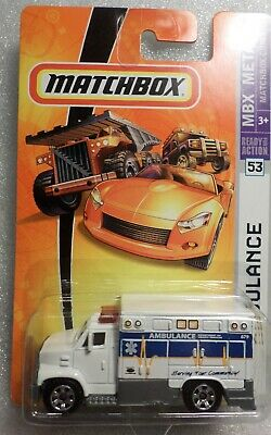 MATCHBOX # 53  AMBULANCE   MINT ON CARD 428