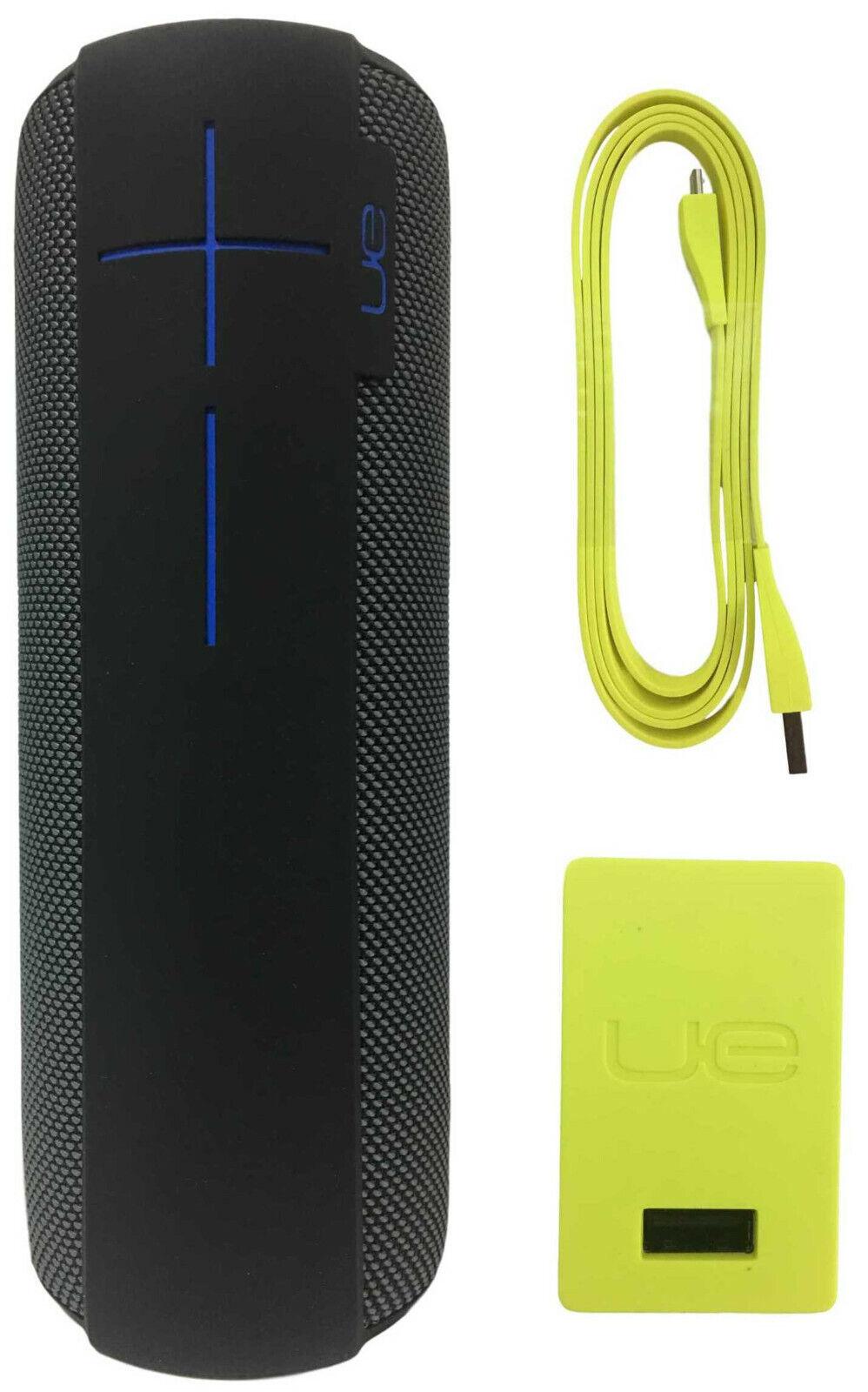 Ultimate Ears UE MEGABOOM Wireless Waterproof Portable Speaker - Charcoal Black